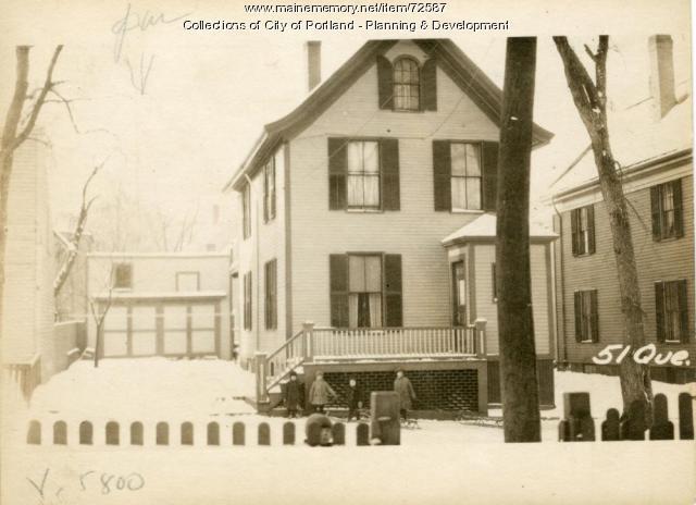 53 Quebec Street, Portland, 1924