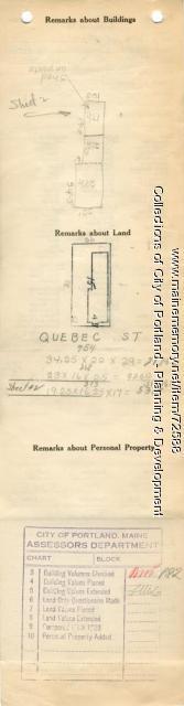 49-51 Quebec Street, Portland, 1924