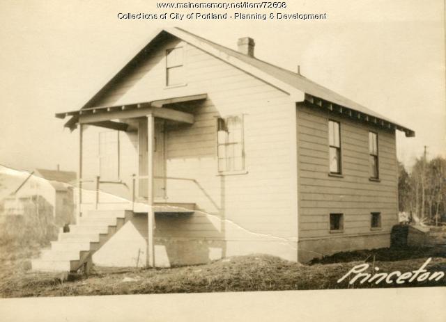 Dwelling, Princeton Street, Portland, 1924