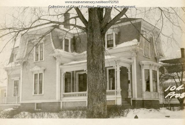 104 Prospect Street in 1924.