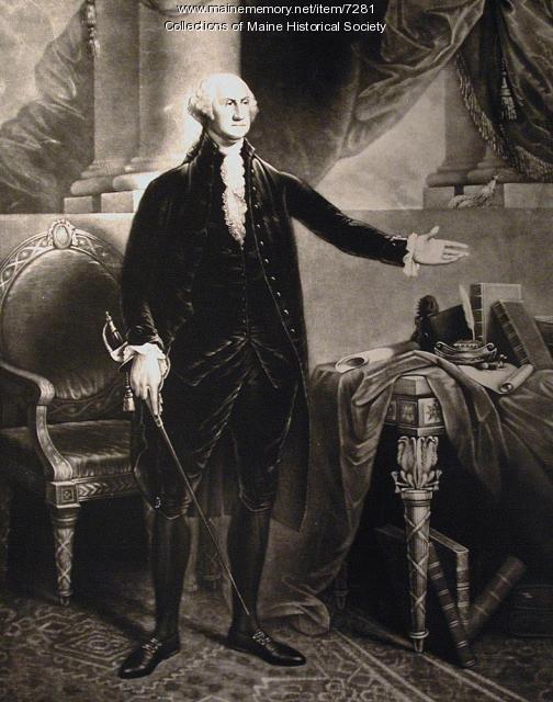 George Washington, ca. 1796