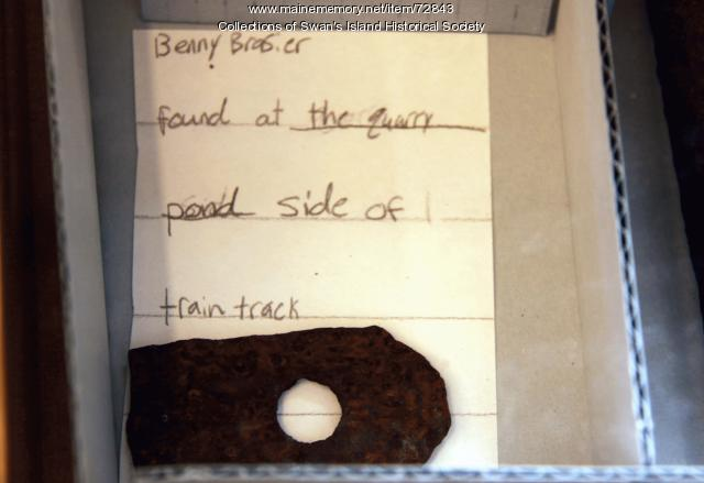 Quarry artifact exhibit 4