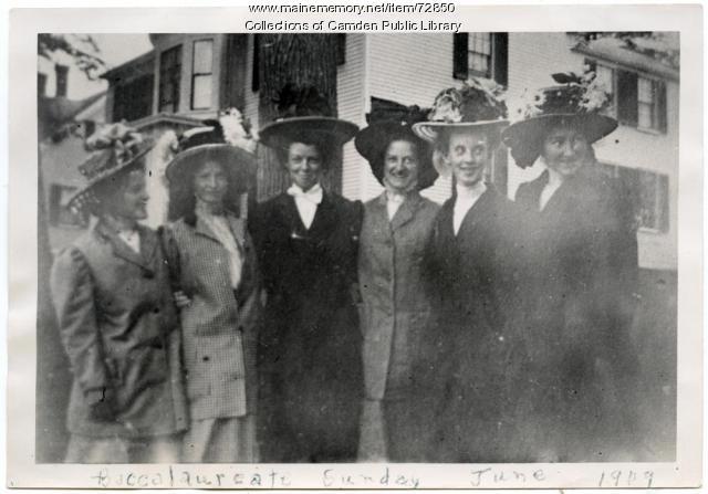 Baccalaureate Sunday, Camden, 1909