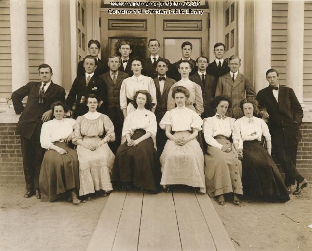 Camden High School Class of 1909