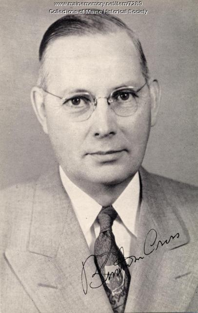 Governor Burton M. Cross