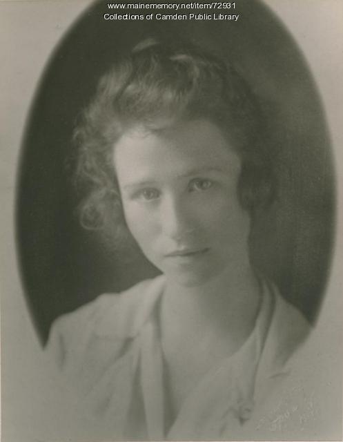 Portrait of Edna St. Vincent Millay, ca. 1913