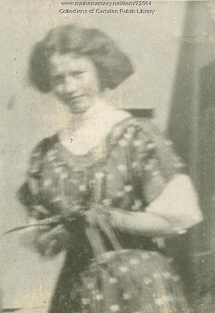 Edna St. Vincent Millay, Camden, ca. 1906