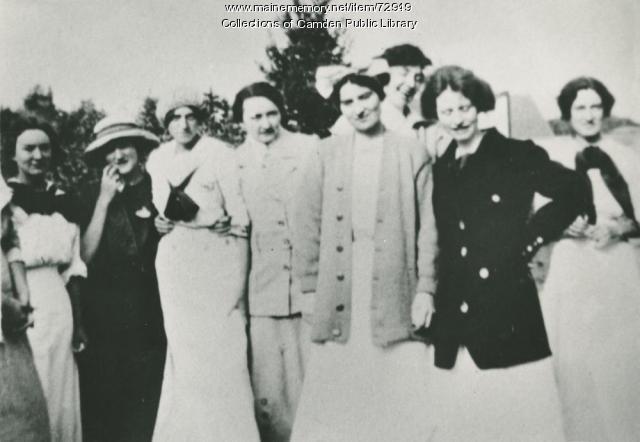 Edna St. Vincent Millay, Ash Point, 1912