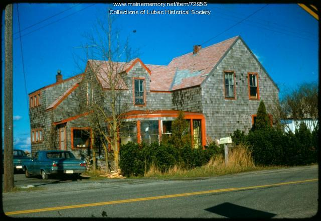 House on County Route 189, Lubec, 1975