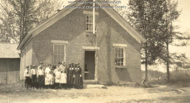 Gore School, Otisfield, ca. 1918