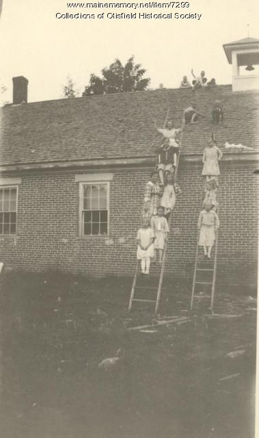 Gore School, Otisfield, ca. 1921