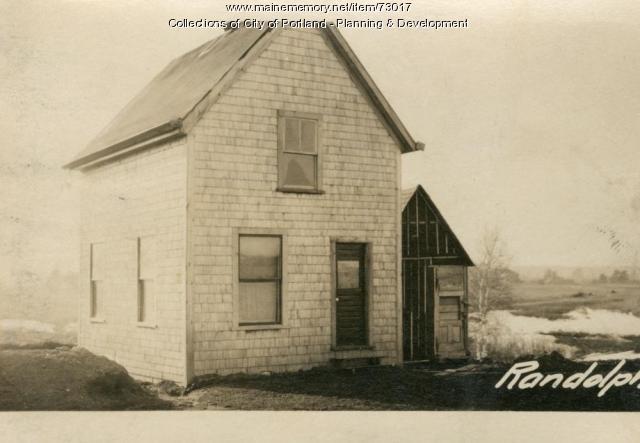 Dwelling, Randolph Street, Portland, 1924