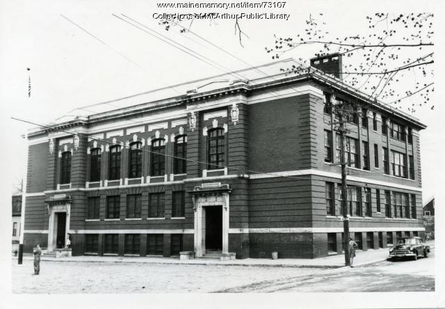 Thomas H. Emery School, Biddeford, 1955