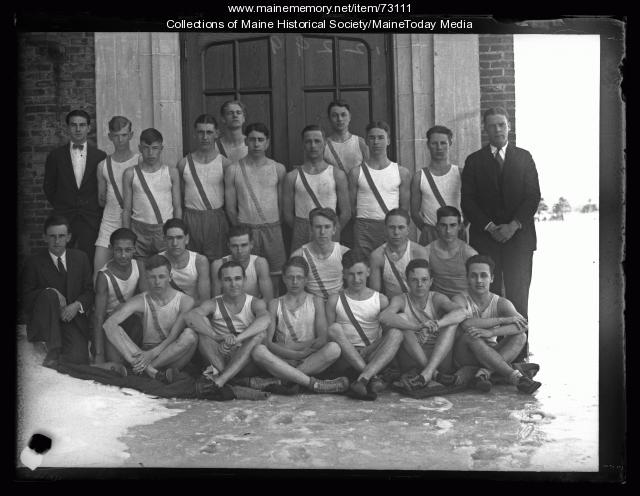 Deering High School track and field team, Portland, 1926