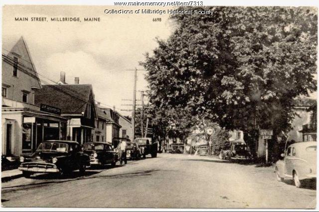 Main Street view, Milbridge