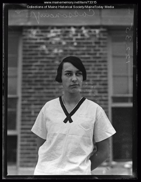Viola Cassavant, South Portland High School, 1926