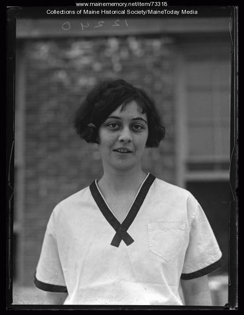 Louise Willey, South Portland High School, 1926
