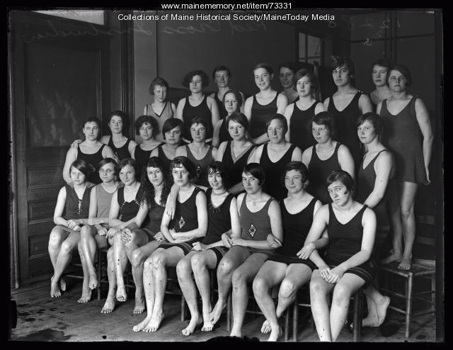Red Cross Life Saving Class, ca. 1926