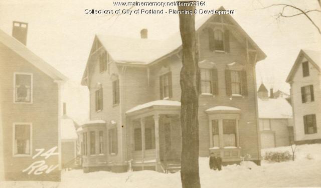 74 Revere Street, Portland, 1924