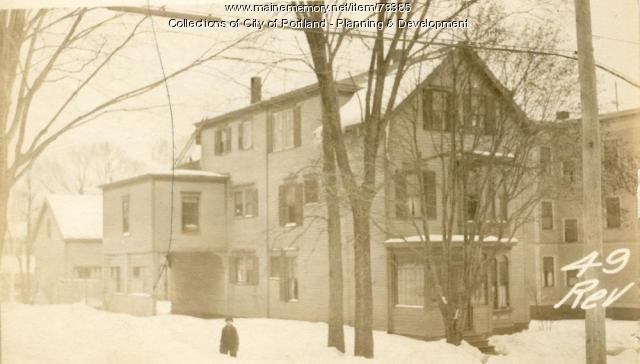 49 Revere Street, Portland, 1924
