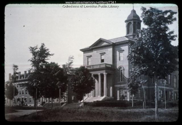 Bates College, Lewiston, ca. 1900