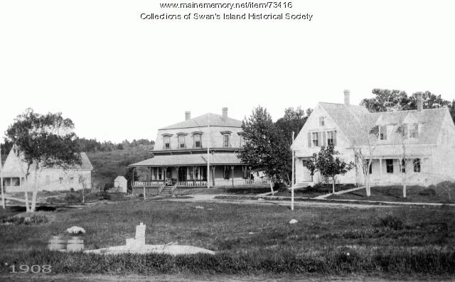 Ponciana Hotel, Swan's Island, 1908