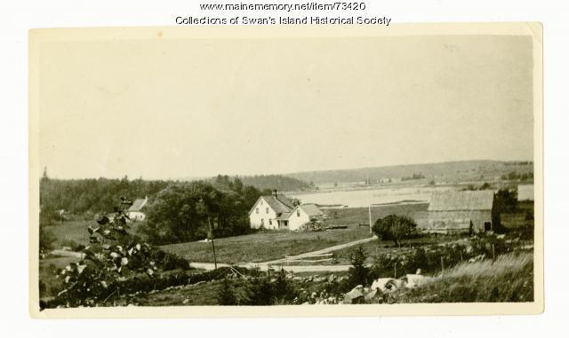 Alden Joyce house, Swan's Island, ca. 1950
