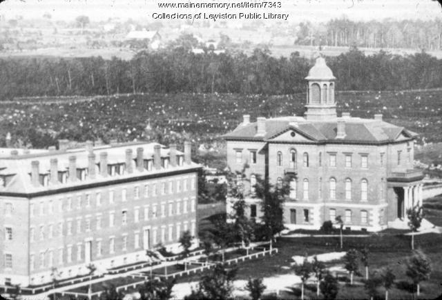 Bates College, Lewiston, ca. 1920