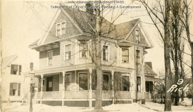 9 Richardson Street, Portland, 1924
