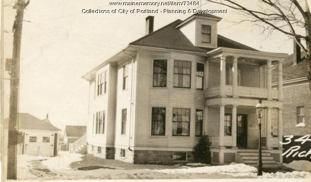 34-36 Richardson Street, Portland, 1924