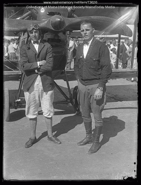 Air Show, Old Orchard, ca. 1924