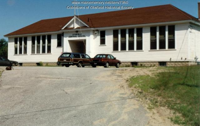 Otisfield Central School, Otisfield, ca. 1990