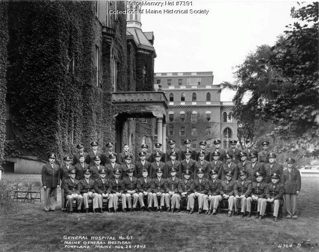 67th General Hospital War Unit, Portland, 1942
