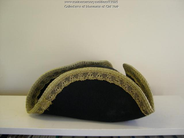 Reproduction Felted Beaver Tricorne Hat