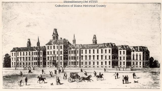 Maine General Hospital Sketch