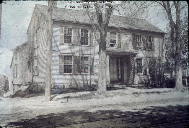 Davis House, Lewiston, ca. 1900