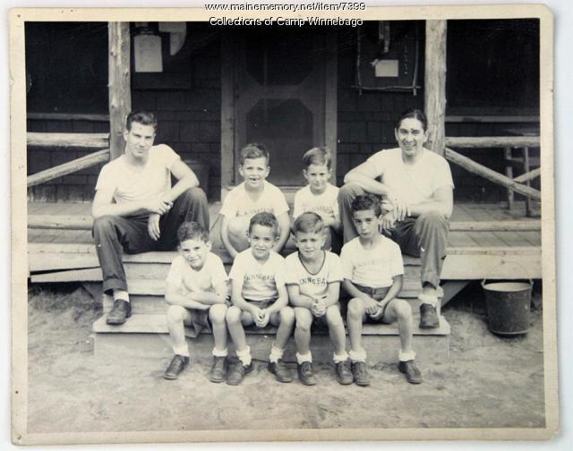 Camp Winnebago Bunk 1, 1947