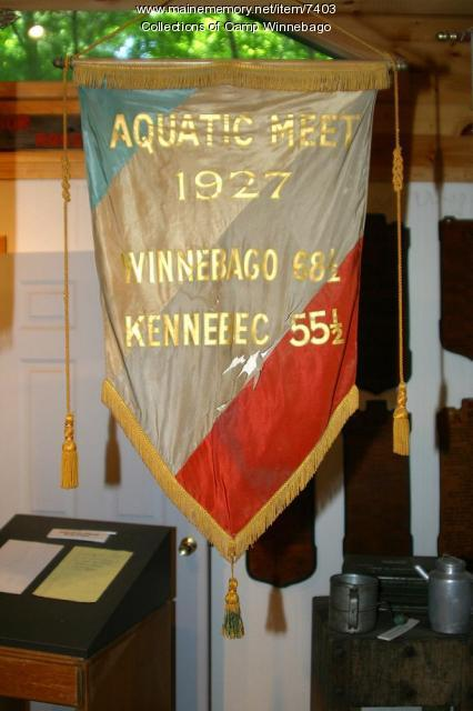 Camp Winnebago 1927 Aquatic meet