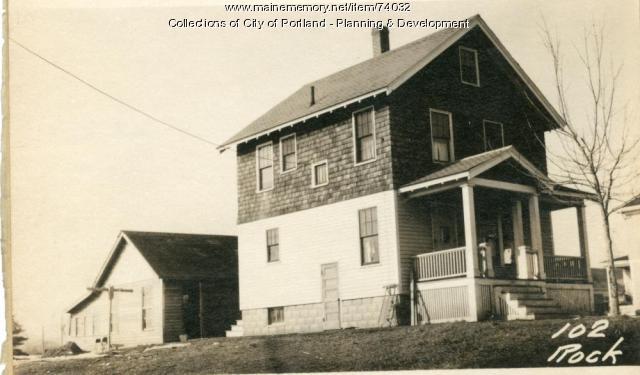 102 Rockland Avenue, Portland, 1924