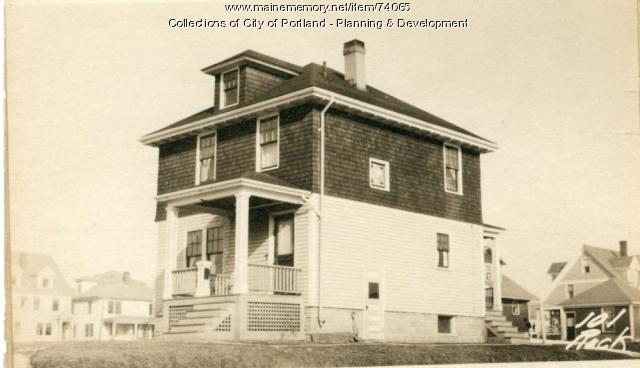 101 Rockland Avenue, Portland, 1924