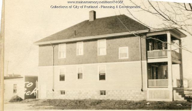 50 Rockland Avenue, Portland, 1924