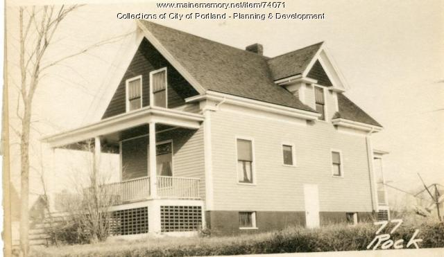 89-91 Rockland Avenue, Portland, 1924