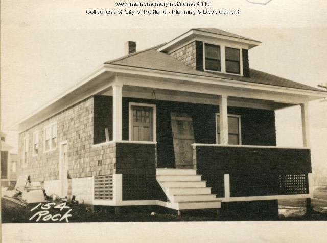 154 Rockland Avenue, Portland, 1924