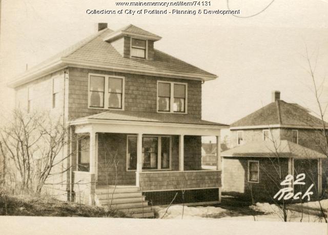 22 Rockland Avenue, Portland, 1924