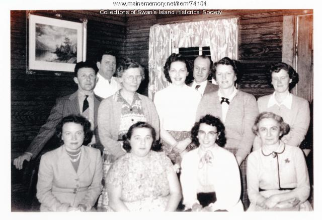 Members of the Women's Society of Christian Service ca 1960
