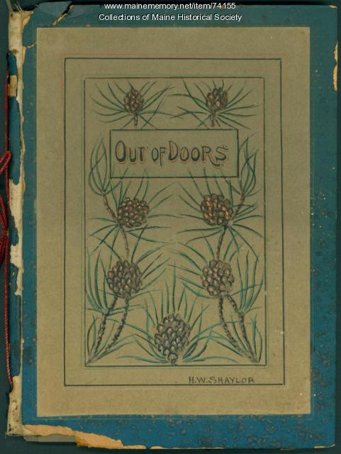 H.W. Shaylor drawing album, 1928