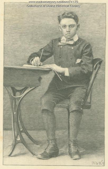 Horace Woodbury Shaylor Jr., ca. 1880