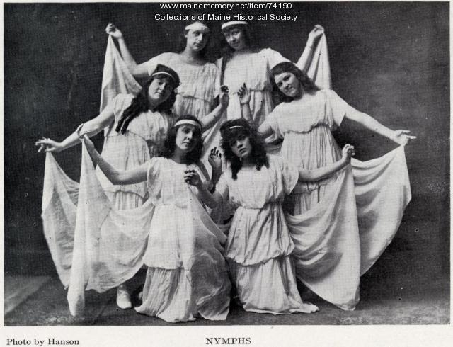 Nymphs, Jefferson Theatre, 1915