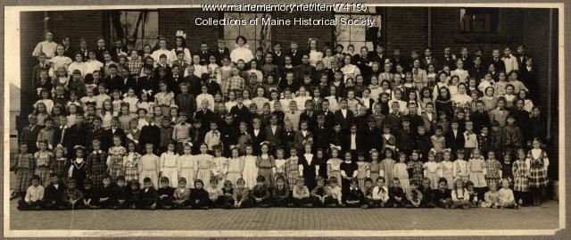 McClellan School class, Portland, ca. 1910