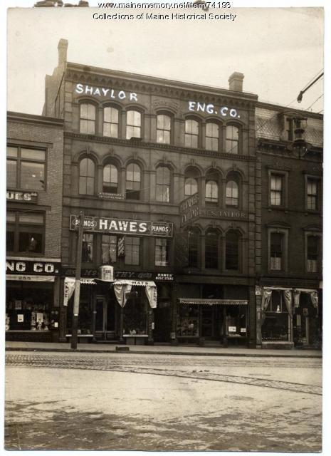 Shaylor Engraving Company, Portland, ca. 1900
